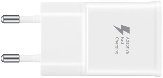 Сетевое зарядное устройство Samsung EP-TA20EWECGRU 2А USB белый цена
