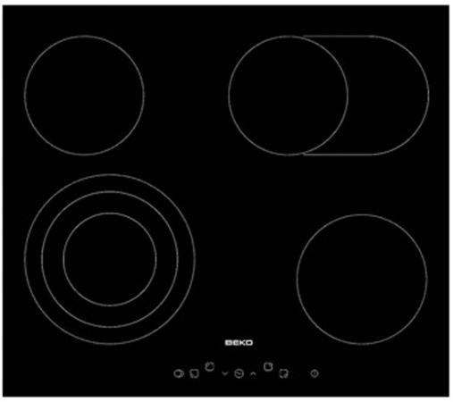 Варочная панель электрическая Beko HIC 64404 T черный все цены