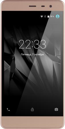 Смартфон Micromax Q4202 золотистый шампань 5 8 Гб LTE Wi-Fi GPS 3G смартфон meizu m5 note серебристый 5 5 32 гб lte wi fi gps 3g