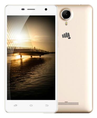 Смартфон Micromax Q351 золотистый 5 8 Гб GPS Wi-Fi 3G нитки gutermann 100% п э 30 м 5 шт 744506 132013 351 351