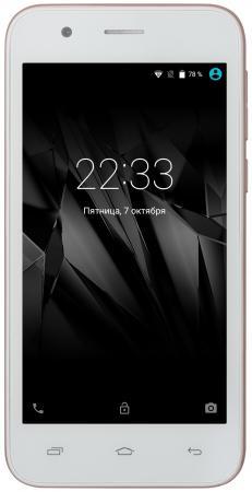 Смартфон Micromax Q346 Lite шампань 4.5 8 Гб Wi-Fi GPS 3G смартфон micromax q346 lite grey 4 5 854x480 fm радио bluetooth wi fi 3g android 5 1 1700 ма ч