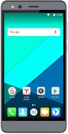 Смартфон Micromax Q397 серый 5.5 16 Гб Wi-Fi GPS 3G смартфон micromax q397 champagne 5 5 8 гб wi fi gps 3g