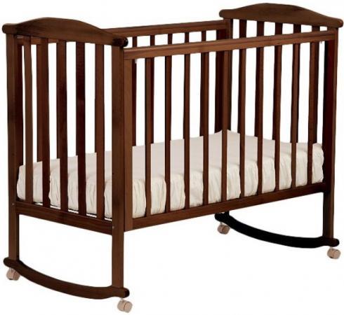 Кроватка-качалка Лель Лютик АБ 15.0 (орех темный) кроватка качалка лель ромашка аб 16 0 орех светлый