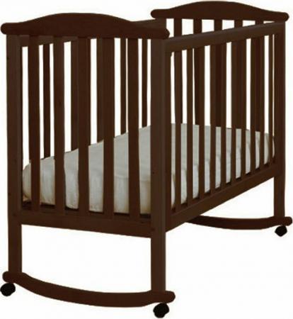 Кроватка-качалка Лель Лютик АБ 15.0 (венге) кроватка качалка лель лютик аб 15 1 белый