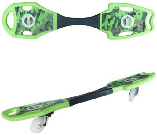 Скейтборд Shantou Gepai 82х20 см (зелёный) 635256 цена 2017