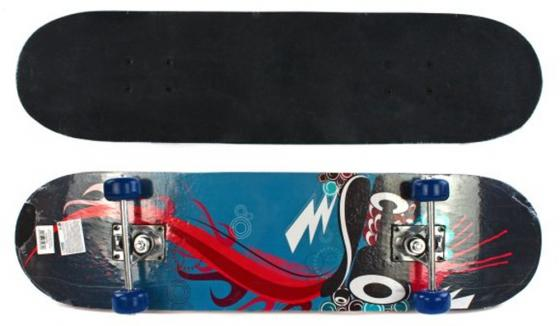 Скейтборд Shantou Gepai Speedy 79х20 см, PVC колеса скейтборд 2 колеса
