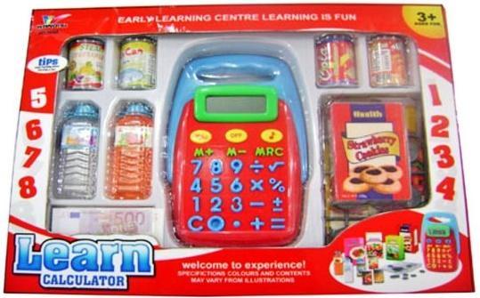 Игровой набор Shantou Gepai Калькулятор с набором продуктов 1608A стоимость
