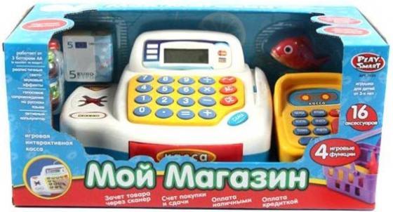 Игровой набор Shantou Gepai Касса - Мой магазин с набором продуктов игровой набор shantou gepai касса с продуктами yh818 2 12 предметов