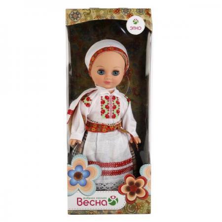 Кукла ВЕСНА Элла в белорусском костюме 35 см 4690213050761 цена