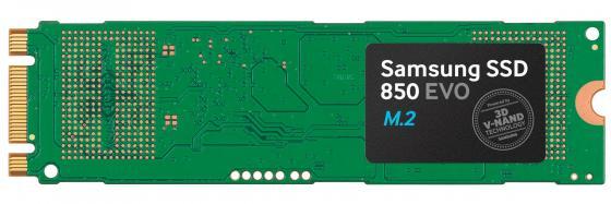 Твердотельный накопитель SSD M.2 1Tb Samsung 850 EVO Read 540Mb/s Write 520Mb/s SATA MZ-N5E1T0BW твердотельный накопитель ssd m 2 1tb samsung 960 evo read 3200mb s write 1900mb s pci e mz v6e1t0bw