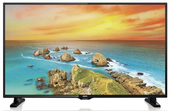 Телевизор 32 BBK 32LEX-5024/T2C черный 1366x768 Wi-Fi Smart TV VGA SCART телевизор led 40 bbk 40lex 5027 t2c черный 1366x768 50 гц wi fi smart tv vga rj 45