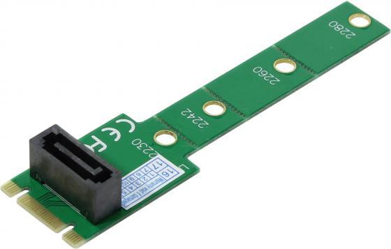 Переходник для подключения SATA диска к разъему NGF Orient C292S переходник orient c292s ssd ngff m 2 sata
