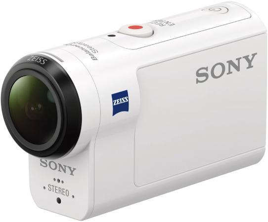 Экшн-камера Sony HDR-AS300 белый sony hdr cx620