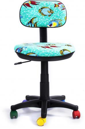 Кресло Recardo Junior D12 бирюзовый  рисунком рыбы gtsN /