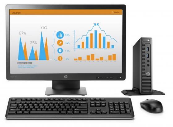 Компьютер 23 HP 260 G2 DM 1920 x 1080 Intel Core i3-6100U 4Gb 500Gb Intel HD Graphics 520 DOS черный 1EX46ES ноутбук asus x540la xx360d 15 6 1366x768 intel core i3 5005u 500gb 4gb intel hd graphics 4400 черный dos 90nb0b01 m13590