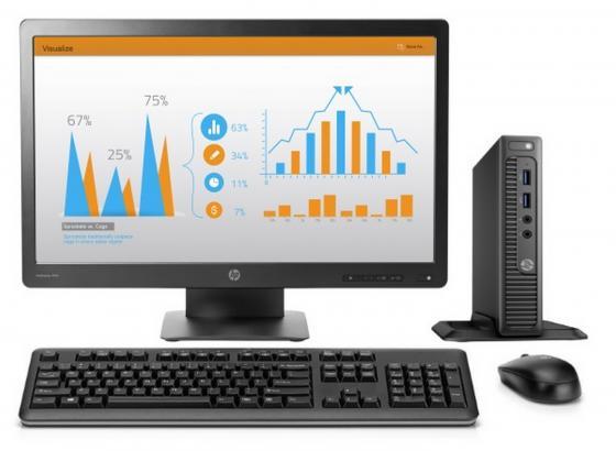 """все цены на  Компьютер 23"""" HP 260 G2 DM 1920 x 1080 Intel Core i3-6100U 4Gb 500Gb Intel HD Graphics 520 использует системную Windows 10 Professional черный 1EX47ES  онлайн"""
