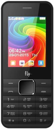 Мобильный телефон Fly FF246 черный 2.4 32 Мб мобильный телефон fly ff178 32mb black