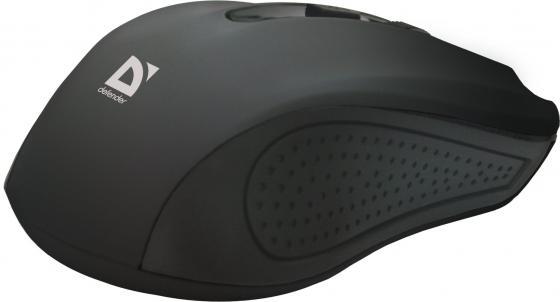 Мышь беспроводная Defender Accura MM-935 чёрный USB мышь беспроводная defender accura mm 935 красный usb 52937