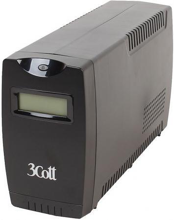 ИБП 3Cott Smart 650 650VA/360W ибп cyberpower 650va 360w ut650ei черный