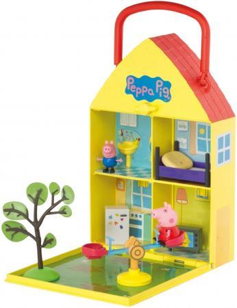 Игровой набор Peppa Pig Дом Пеппы с садом детская футболка классическая унисекс printio мотобайк