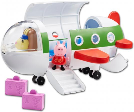 Игровой набор Peppa Pig Самолет с фигуркой Пеппы 31606 росмэн игровой набор самолет peppa pig