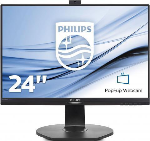 Монитор 24 Philips 241B7QPJKEB черный IPS 1920x1080 250 cd/m^2 5 ms HDMI DisplayPort VGA Аудио USB монитор 23 8 philips 240b7qpteb черный ips 1920x1200 300 cd m^2 5 ms hdmi displayport mini displayport vga аудио usb