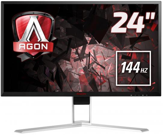 "все цены на  Монитор 23.8"" AOC AG241QX черный TFT-TN 2560x1440 350 cd/m^2 1 ms DVI HDMI DisplayPort VGA Аудио USB  онлайн"