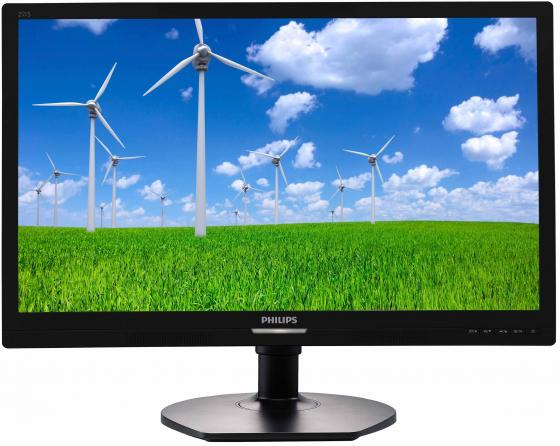 Монитор 21.5 Philips 221S6QYMB черный AH-IPS 1920x1080 250 cd/m^2 5 ms DVI DisplayPort VGA Аудио philips philips az 385 черный cd flash