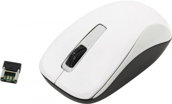 лучшая цена Мышь беспроводная Genius NX-7005 белый USB