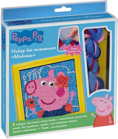 Набор для вышивания Peppa Pig Модница 31070 росмэн игровой набор самолет peppa pig