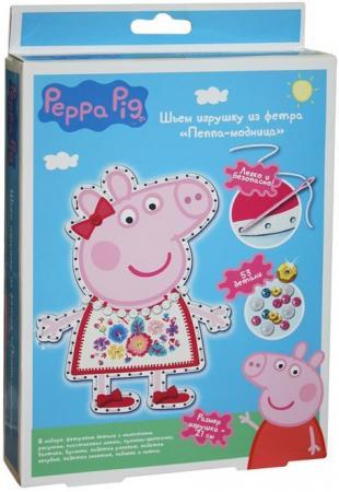 Набор для создания игрушки Peppa Pig Пеппа модница 31085 раскраски свинка пеппа peppa pig с наклейками синяя