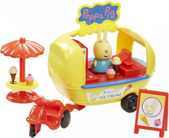 Игровой набор Peppa Pig Кафе-мороженое Ребекки 30628 игровой набор доктор peppa pig игровой набор доктор