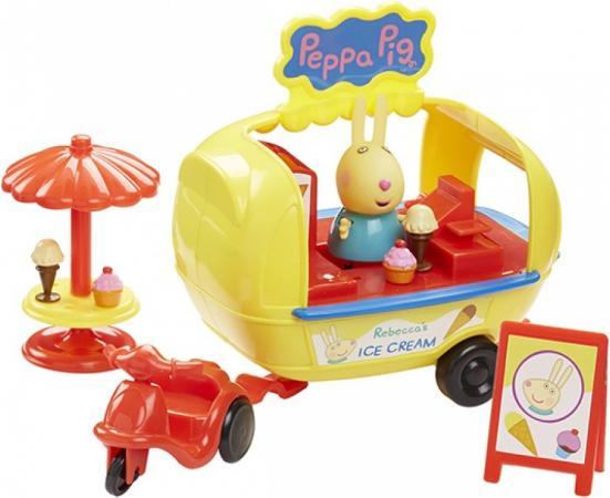 Игровой набор Peppa Pig Кафе-мороженое Ребекки 30628 peppa pig playing football