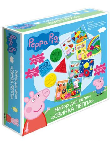 Набор для лепки Росмэн Свинка Пеппа 30410 набор для лепки свинка пеппа свинка пеппа