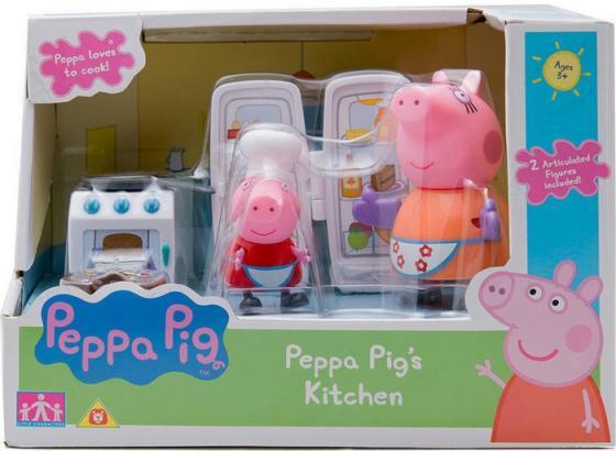 Игровой набор Peppa Pig Кухня Пеппы игровой набор доктор peppa pig игровой набор доктор