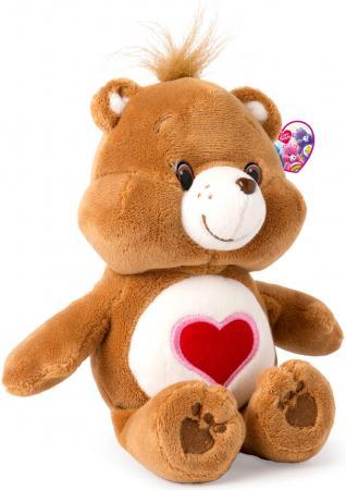 Мягкая игрушка медведь РОСМЭН Care Bears - Добряк 20 см коричневый текстиль  32078