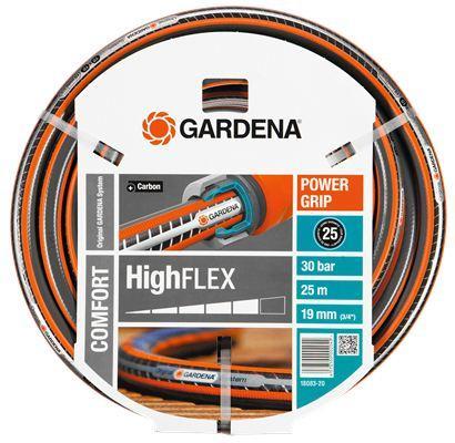 "Шланг Gardena Highflex 3/4"" 25м 18083-20.000.00 шланг flex 9x9 3 4 х 1м gardena 18055 22"