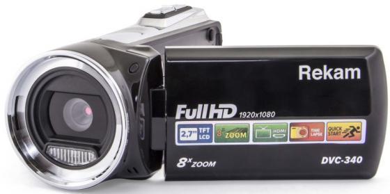 Цифровая видеокамера Rekam DVC-340 черный