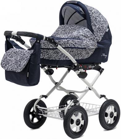 Коляска 3-в-1 Teddy BartPlast Mirage PCO-F (04/синий) коляска 3 в 1 teddy bartplast serenade pco f графит серый