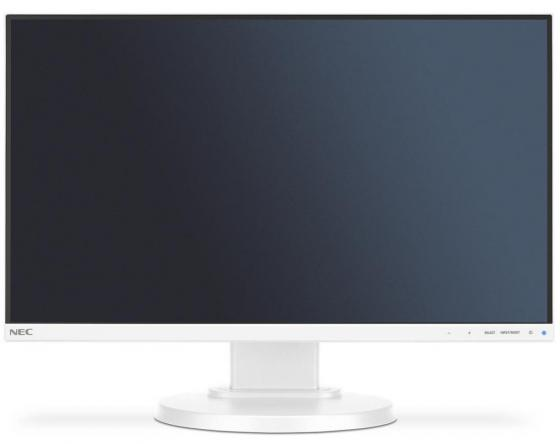 Монитор 21.5 NEC E221N серебристый белый AH-IPS 1920x1080 250 cd/m^2 6 ms HDMI DisplayPort VGA Аудио монитор nec e241n bk черный ah ips 1920x1080 250 cd m^2 6 ms hdmi displayport vga аудио