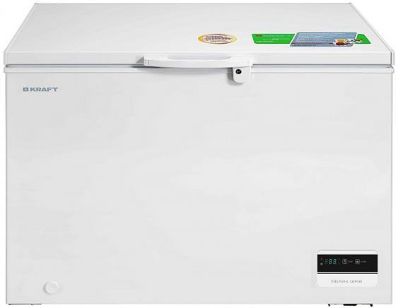 лучшая цена Морозильный ларь Kraft BD(W)-335BLG белый