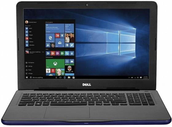 Ноутбук DELL Inspiron 5567 15.6 1920x1080 Intel Core i5-7200U 1 Tb 8Gb Radeon R7 M445 4096 Мб синий Windows 10 5567-3539 ноутбук dell inspiron 5567 5567 1998 5567 1998