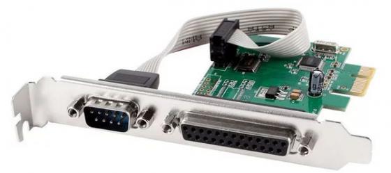 Контроллер PCI-E Orient XWT-PE1S1PV2 COM LPT Oem контроллер pci e 2 com купить минск