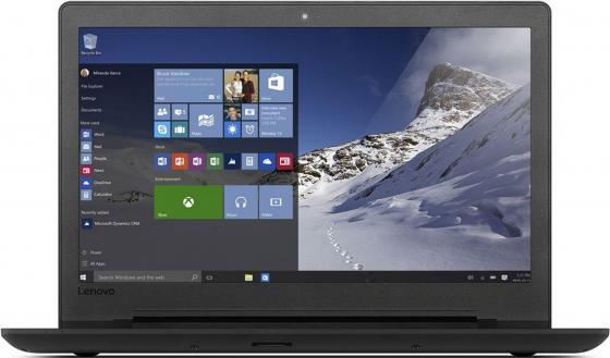 Ноутбук Lenovo IdeaPad 110-15IBR 15.6 1366x768 Intel Celeron-N3060 500Gb 2Gb Intel HD Graphics 400 черный Windows 10 Home 80T700C0RK