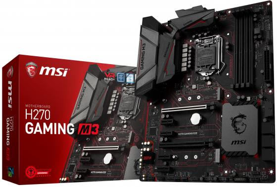 все цены на Материнская плата MSI H270 GAMING M3 Socket 1151 H270 4xDDR4 2xPCI-E 16x 4xPCI-E 1x 6xSATAIII ATX Retail