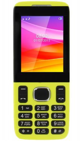 Мобильный телефон Vertex D503 жёлтый 2.4 мобильный телефон vertex d503