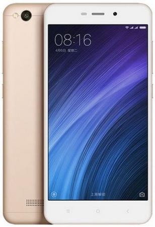 Смартфон Xiaomi Redmi 4A золотистый 5 16 Гб LTE Wi-Fi GPS 3G REDMI4AGD16GB смартфон philips xenium s327 синий 5 5 8 гб lte wi fi gps 3g