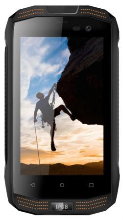 Смартфон Vertex Stark Impress Strong черный оранжевый 4 8 Гб LTE Wi-Fi GPS 3G SSTRBLK смартфон vertex impress groove gold