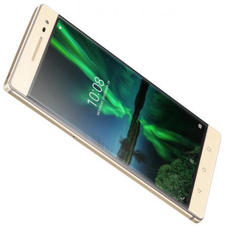 Смартфон Lenovo Phab 2 Pro PB2-690M золотистый 6.4 64 Гб LTE Wi-Fi GPS 3G ZA1F0055RU смартфон micromax q334 canvas magnus черный 5 4 гб wi fi gps 3g