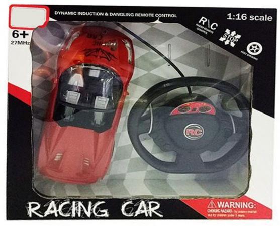 Машинка на радиоуправлении Shantou Gepai Racing Car красный от 6 лет пластик 4 канала 635370 bluesea машинка на радиоуправлении racing car цвет синий
